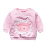 宝宝童装衣服08个月春装卫衣宝宝春季休闲上衣时尚婴幼儿