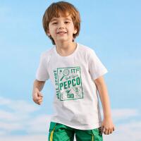 【3件3折到手价:40】小猪班纳童装儿童短袖T恤男童上衣2020新款夏装纯棉休闲韩版体恤