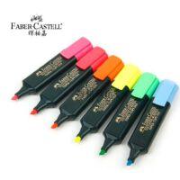 辉柏嘉CASTELL1548荧光笔记号笔醒目笔6色可选