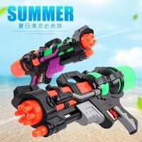 水枪新款儿童水枪玩具大号男孩沙滩泼水节宝宝抽拉式高压喷水枪跑男同款呲水枪