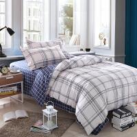 [当当自营]维众家纺 学生单人多件套组合装 1.2米床 床单被套枕套枕芯被子床垫
