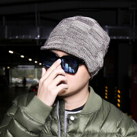 帽子男冬天保暖加厚护耳防寒毛线帽韩版潮男士骑车针织秋冬包头帽
