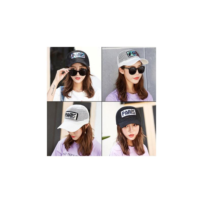 太阳帽女士鸭舌帽户外出游百搭遮阳帽韩版潮运动帽透气棒球帽