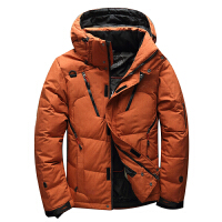 新款男式短款羽绒服男修身青年男士加厚户外休闲冬装外套滑雪服男新品