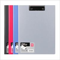 得力办公文具用品5440折页板夹 带插页 折叠式资料夹 会议夹文件夹颜色*一个