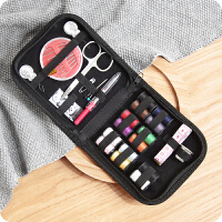 便携式针线包 家用缝纫工具10件套装缝纫线盒缝补针线盒