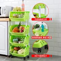 厨房置物架落地多层蔬菜用品家用大全菜篮子玩具阳台储物收纳架子