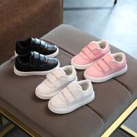 春秋儿童小白鞋中小童运动鞋男女童宝宝板鞋潮童运动鞋子