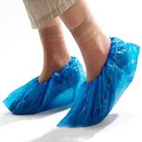红兔子一次性鞋套 加厚环保家居塑料鞋套家用防尘防滑鞋套 环保型DA008 100只装一次性鞋套
