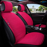 汽车坐垫四季通用小蛮腰透气凉垫免绑座套荞麦座椅套冰丝夏季座垫