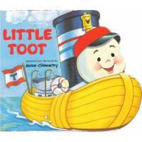 Little Toot [Boardbook] 拖船小嘟嘟(卡板书) ISBN9780448405858