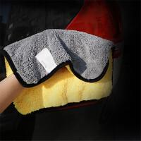 御目 擦车毛巾 汽车洗车毛巾加厚车用擦车布吸水不掉毛清洁用品洗车工具
