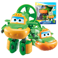 奥迪双钻超级飞侠玩具大号变形机器人全套装小飞侠玩具 大变形飞侠-奇奇
