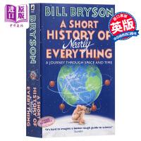 【中商原版】万物简史 英文原版 A Short History of Nearly Everything 比尔布莱森 人类未来 简史类科普读物 Bill Bryson 罗辑思维推荐书目