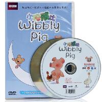 小猪威比13DVD 儿童早教英语光盘动画DVD中英双语字幕 送宝宝、送朋友的礼物就可以选小猪威比 13DVD