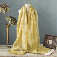 真丝混纺围巾披肩两用遮阳纱巾丝巾女桑蚕丝韩版长款纱巾