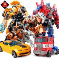 锦江变形玩具金刚5 大黄蜂擎天侠恐龙组合机器人儿童变形玩具模型