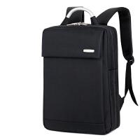 电脑包双肩包 笔记本包15.6男士14英寸女苹果电脑背包铝环手提包