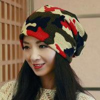 帽子女韩版潮时尚百搭出游头巾薄光头透气化疗帽夏包头帽