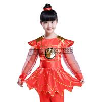六一儿童花木兰舞蹈服装少儿打鼓服女士兵服穆桂英诗辞朗诵演出服