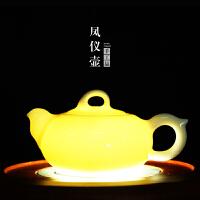w思故轩 整套陶瓷茶具套装 功夫茶具配件 泡茶壶 白瓷茶壶高白壶CMZ1705