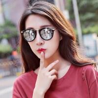 复古女士太阳眼镜圆脸方形墨镜 新款韩版太阳镜女潮司机墨镜户外驾驶遮阳镜