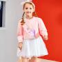【3件6折】小猪班纳童装女童长袖连衣裙秋季新款中大童休闲卡通裙子洋气韩版