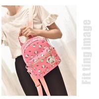 韩版儿童包包中大童小女孩书包时尚公主双肩包可爱旅行休闲背