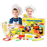 橡皮泥不易干彩泥套装儿童男女孩彩泥橡皮泥玩具