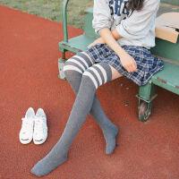 过膝袜子女中筒长筒袜学生可爱韩版学院风高筒棉袜
