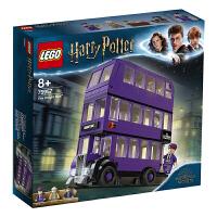 【当当自营】LEGO乐高积木哈利波特系列75957 骑士巴士