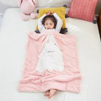珊瑚绒毯加厚冬季被子儿童保暖小毛毯子幼儿园午睡毯牛奶绒毛巾被