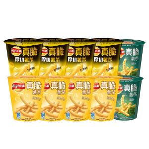 乐事真脆薯 薯条40g*6杯+36g*4杯(原味*4+黄油*4+海苔*2)