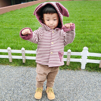 宝宝秋冬装套装男0-1-3岁潮婴儿衣服加厚两件套一岁宝宝秋装套装