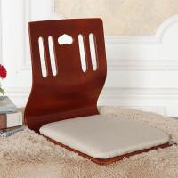 榻榻米和室椅懒人板凳床上椅子宿舍飘窗靠背座椅无腿椅子日韩坐垫 整装