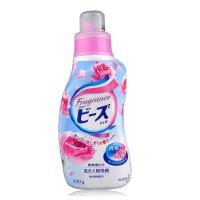 花王(kao)洗衣液公主玫瑰香820g温和无刺激易漂洗剂荧光剂 衣物清洁
