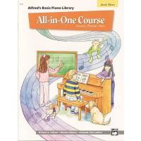 【预订】Alfred's Basic All-In-One Course, Bk 3: Lesson * Theory