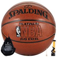 SPALDING/斯伯丁篮球74-605Y原64-282室内外NBA比赛训练用球PU皮