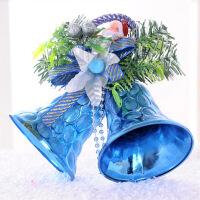 圣诞装饰品 圣诞双铃铛挂饰 儿童礼物 两只铃铛 颜色随机圣诞铃铛