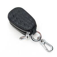 女士真皮汽车钥匙包双层韩国可爱迷你个性多功能通用男锁匙包创意