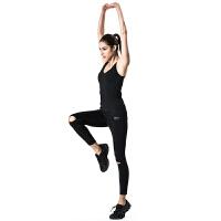 运动背心女速干透气长款带文胸女士跑步 防震瑜珈服跑步服健身训练运动式BRA瑜伽运动背心