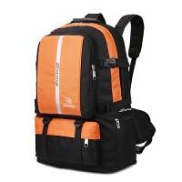 20180625004927198男士大容量双肩包户外旅行包防水尼龙包双肩背包男女包加大行李包