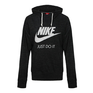 Nike耐克2018年新款女子运动保暖连帽卫衣套头衫907628-010