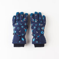 保暖加厚防滑防水滑雪手套女冬8-10岁中大儿童手套男冬