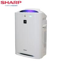 夏普 (SHARP) 空气净化器 KC-CD30-W 家用 除雾霾 除甲醛 除PM2.5 带加湿净化器