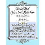 【预订】Script and Cursive Alphabets 100 Complete Fonts