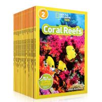 顺丰发货 National Geographic KIDS Readers Level 2 儿童科普分级阅读 第2级20本套装 美国国家地理杂志 英文原版百科图画书