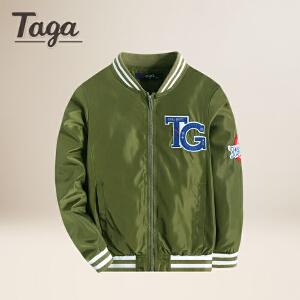 TAGA  秋季新款童装男童外套开衫儿童棒球服男孩夹克【清仓款】
