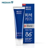 爱茉莉(Amore)MEDIAN麦迪安86韩国去牙垢牙渍牙膏120g装
