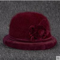 中年妈妈礼帽女士中老年人老人帽子女奶奶保暖加厚加绒盆帽